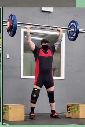 Image from The Start of Something New - Para Weightlifting at the CMWC